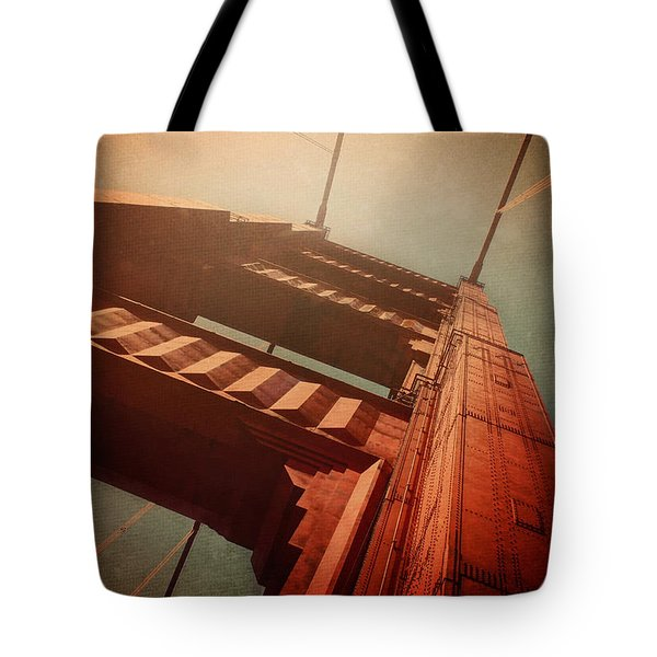 The Towering Golden Gate Tote Bag