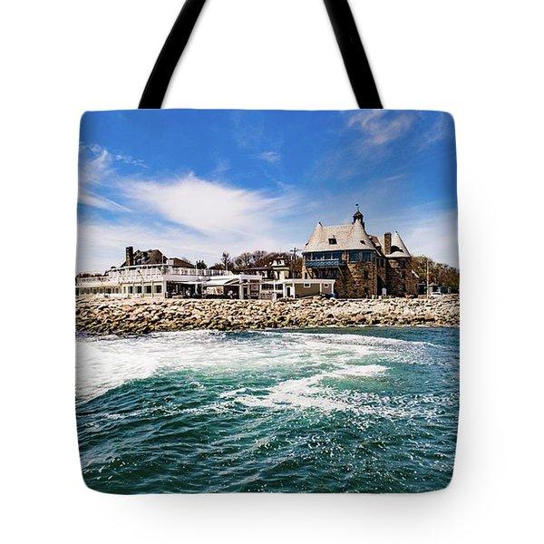 The Towers Of Narragansett  Tote Bag