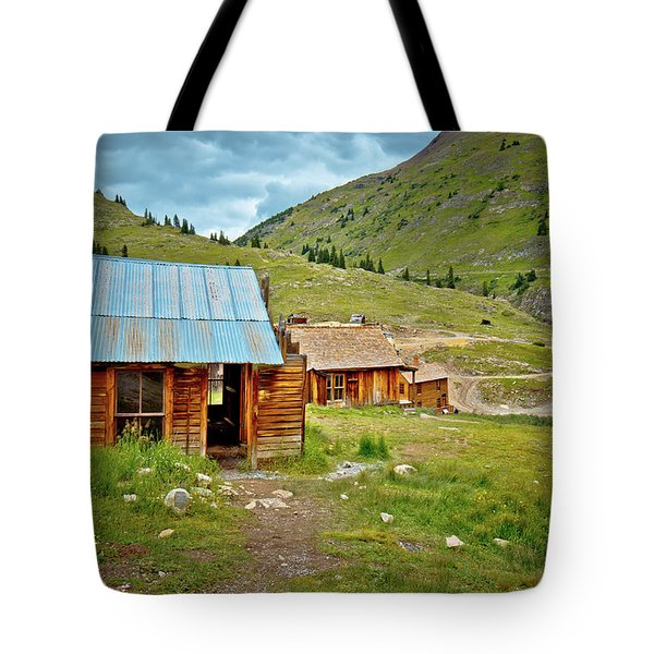The Town Of Animas Forks Tote Bag