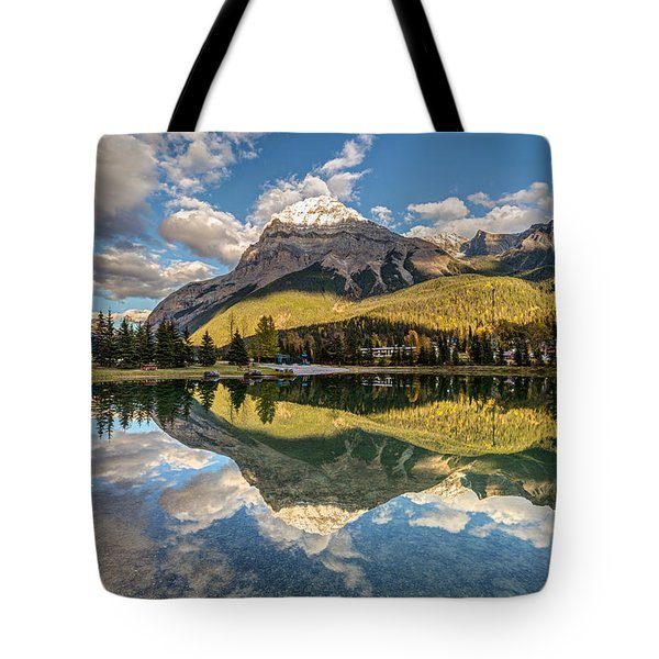 The Town Of Field In British Columbia Tote Bag by Pierre Leclerc Photography
