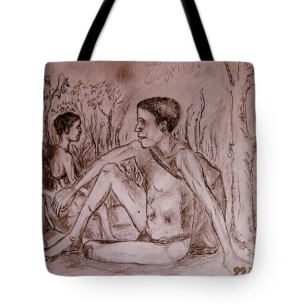 The Traditional Barter System Tote Bag