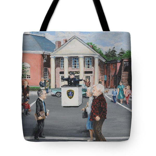 The Traffic Box Tote Bag by Jack Skinner