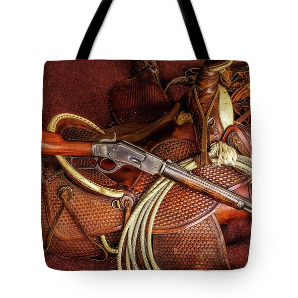 The Trail Boss Tote Bag