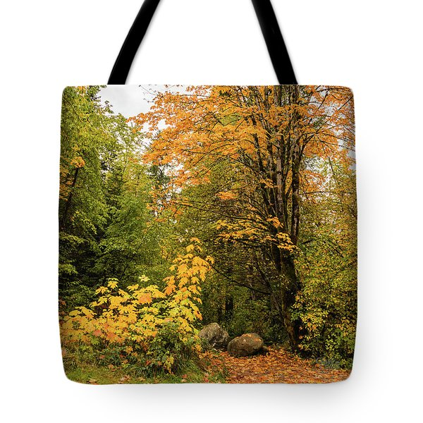 The Trail Starts Here Tote Bag