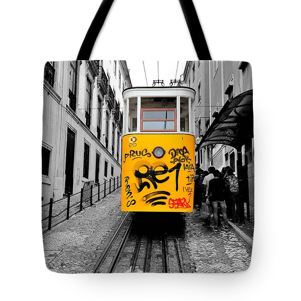 The Tram Tote Bag