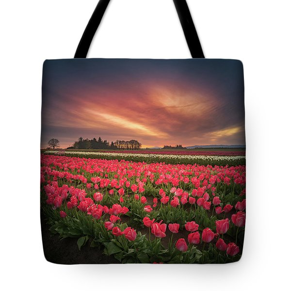 Tote Bag featuring the photograph The Tranquil Morning Before Sunrise by William Lee