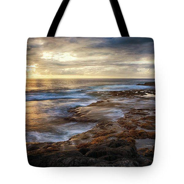 The Tranquil Seas Tote Bag