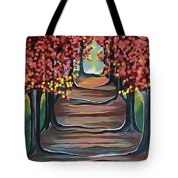 The Tranquility Of Nature Tote Bag