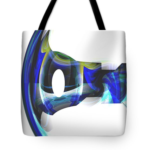 The Transparency Bow Tote Bag by Thibault Toussaint