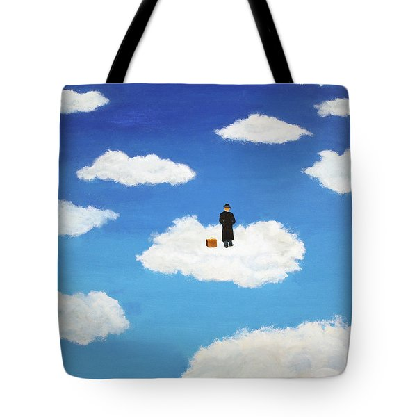 The Traveler Tote Bag by Thomas Blood