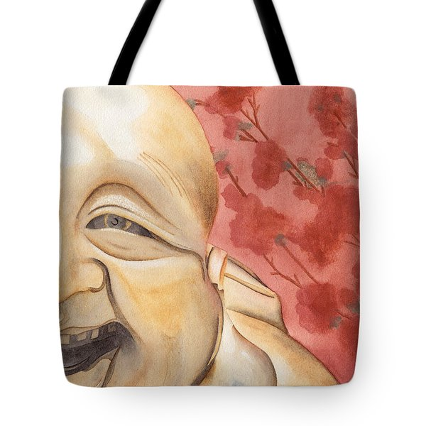The Travelling Buddha Statue Tote Bag