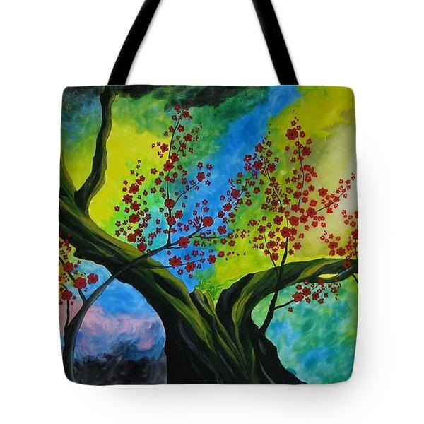 The Tree Tote Bag by Betta Artusi