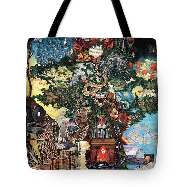 The Tree Tote Bag by Emily McLaughlin