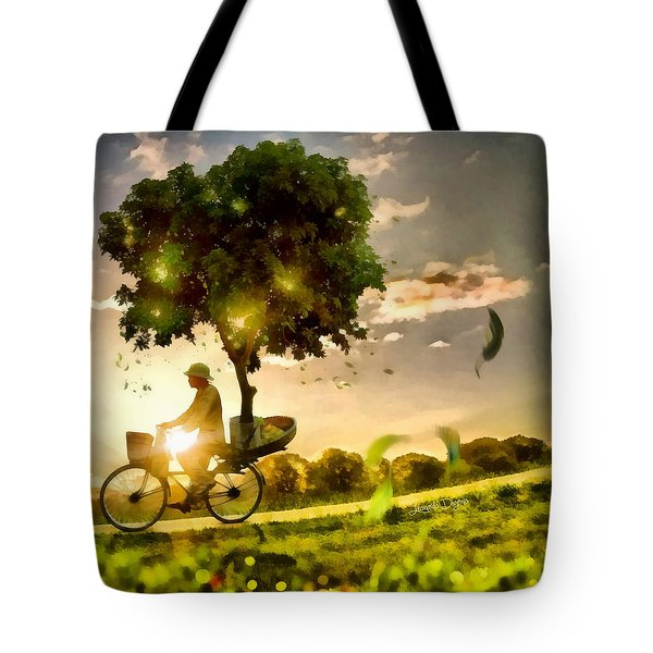The Tree Mover - Da Tote Bag