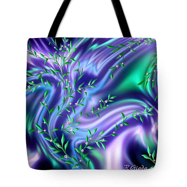 The Tree Of Diamonds Tote Bag by Giada Rossi
