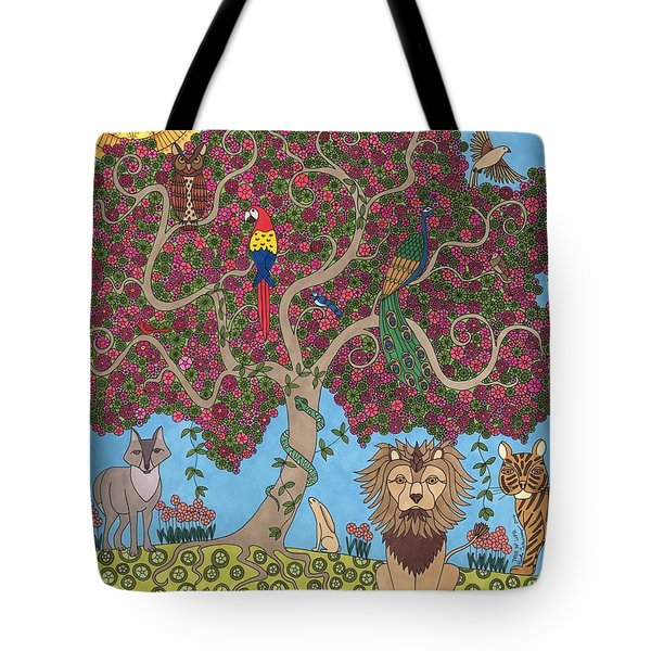 The Tree Of Life Tote Bag