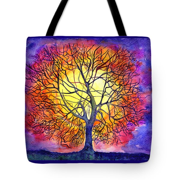 The Tree Of New Life Tote Bag
