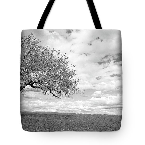 The Tree On The Hill Tote Bag