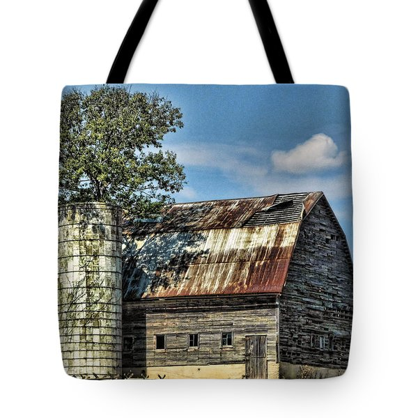 The Tree Silo Tote Bag