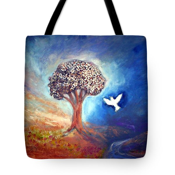 The Tree Tote Bag by Winsome Gunning