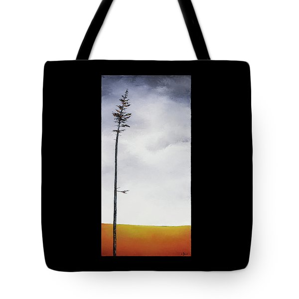The Trees Are So Tall Here  II     Tote Bag by Carolyn Doe