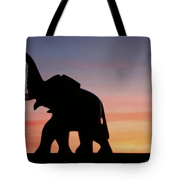 Tote Bag featuring the photograph The Trek by Joyce Dickens