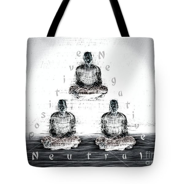 The Triangle Of Decision Tote Bag