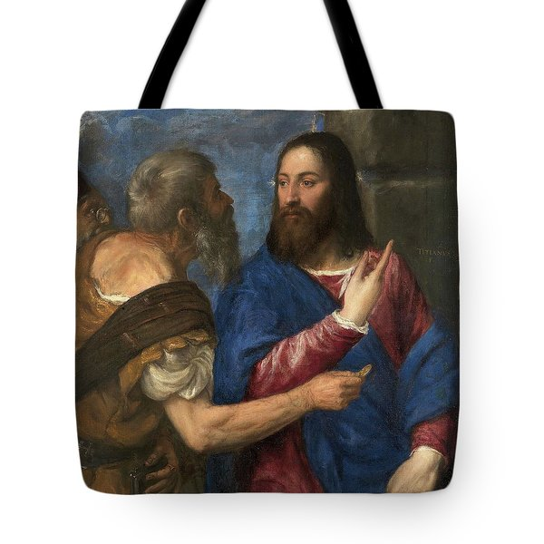 The Tribute Money Tote Bag