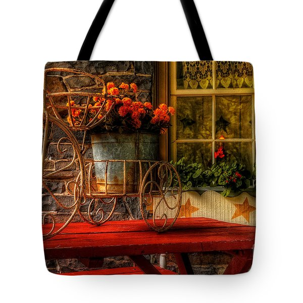 The Tricycle Tote Bag by Lois Bryan