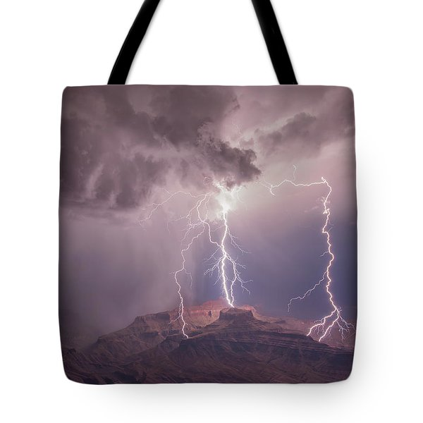 The Triplets Tote Bag