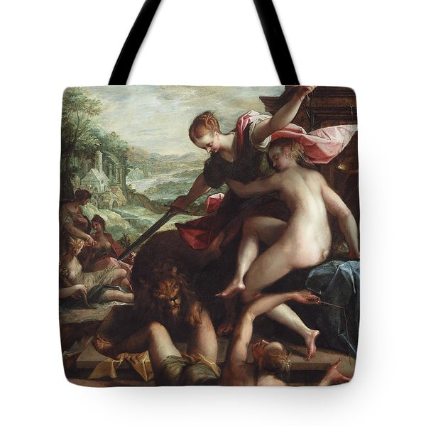 The Triumph Of Truth Tote Bag by Johann or Hans von Aachen