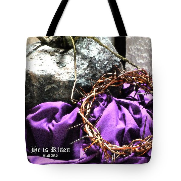 The Triumphant Crown Tote Bag