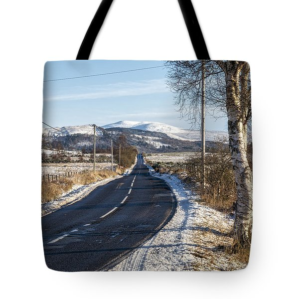 The Trossachs National Park In Scotland Tote Bag