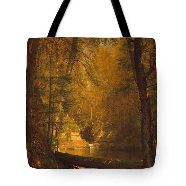 The Trout Pool Tote Bag by John Stephens