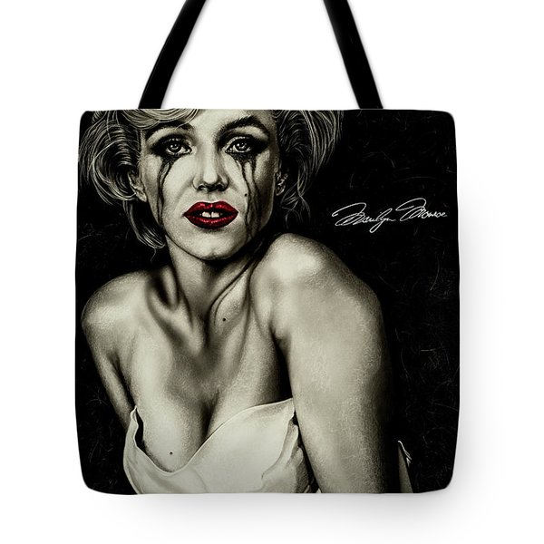 The True Marilyn Tote Bag