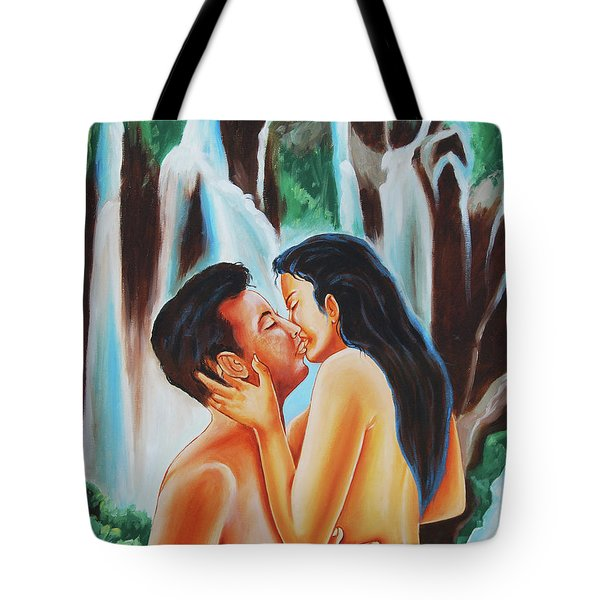 The True Nature Of Happiness Tote Bag