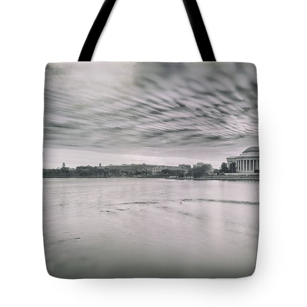 Tote Bag featuring the photograph The Trump State by Edward Kreis