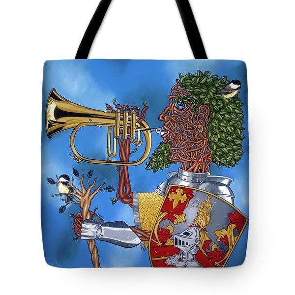 The Trumpiter Tote Bag