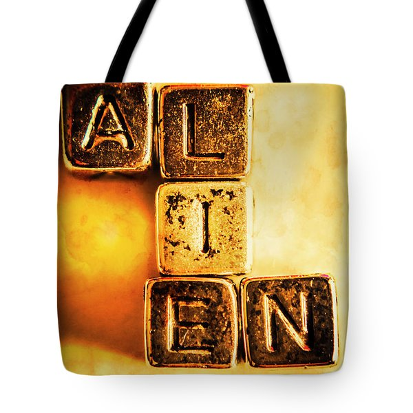 The Truth Abduction Tote Bag