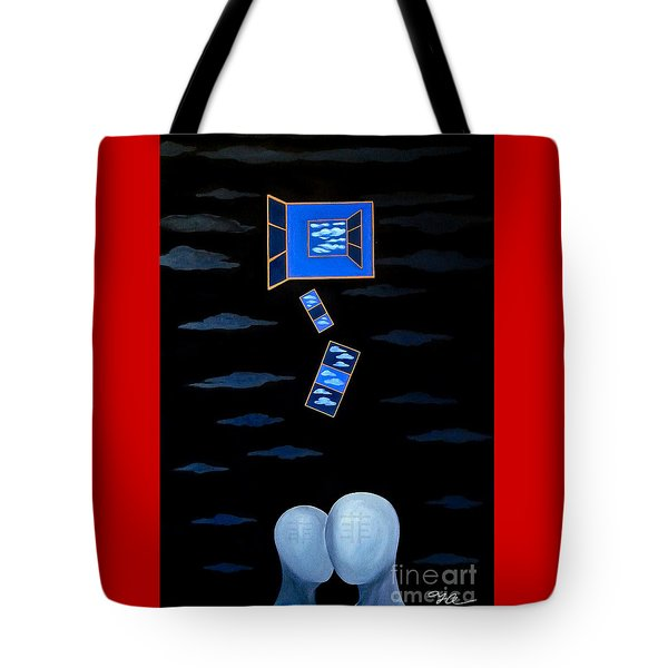 The Truth Is We Don't Know The Truth Tote Bag by Fei A
