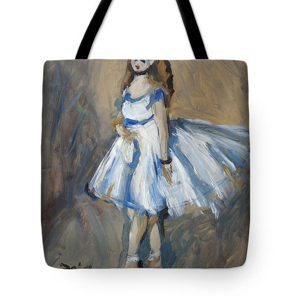 The Truth Lies Between Aguste Renoir And Marlene Dumas Tote Bag