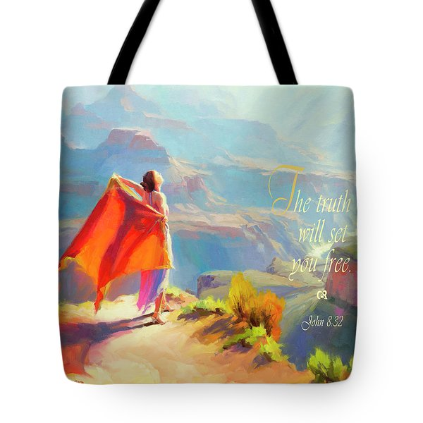 The Truth Will Set You Free Tote Bag
