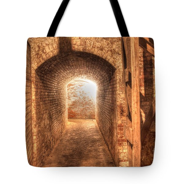 The Tunnel Tote Bag by David Bishop