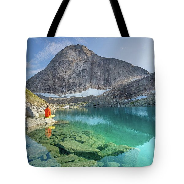 The Turquoise Lake Tote Bag