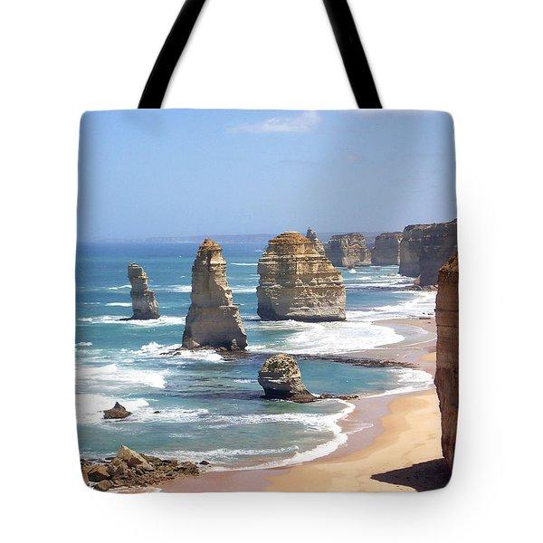 The Twelve Apostles Tote Bag by Eena Bo
