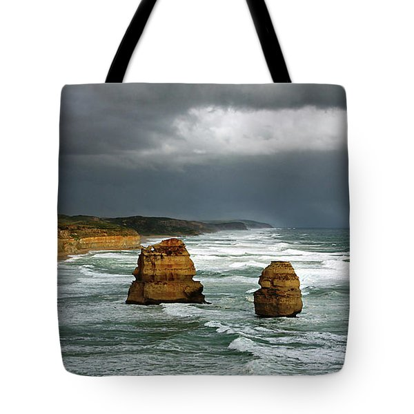 Tote Bag featuring the photograph The Twelve Apostles by Marion Cullen