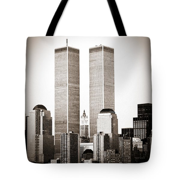The Twin Towers Tote Bag
