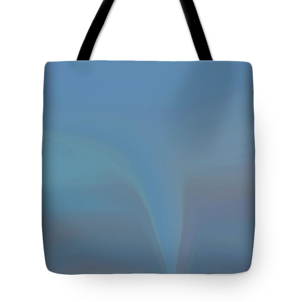 Tote Bag featuring the painting The Twister by Dan Sproul
