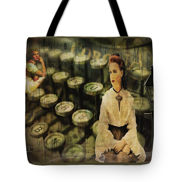 The Typist Tote Bag