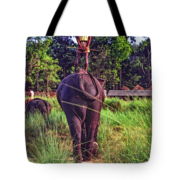 The Ultimate Bareback Ride Tote Bag